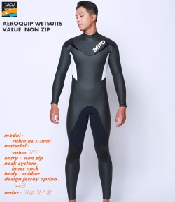 AEROQUIP value  non zip inner neck  남녀공용    5/3mm