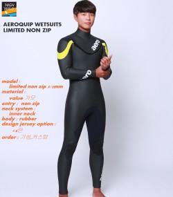 AEROQUIP  limited  non zip inner neck  남녀공용    5/3mm