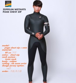ZEPPELIN  page  chest zip inner neck  남녀공용    5/3