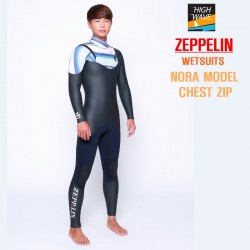 ZEPPELIN  NORA  chest zip inner neck  남녀공용    5/3