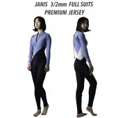 ZEPPELIN JANIS FULL SUIT   PREMIUM JERSEY 3/2mm