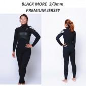 ZEPPELIN  BLACK MORE  chest zip 풀기모  남녀공용    3/3