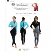 HUG  WETSUITS  3/2mm BACK ZIP FULL SUITS